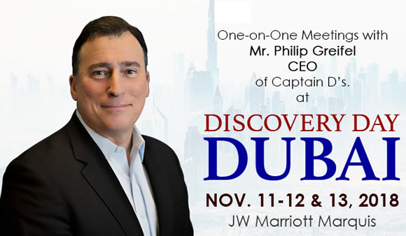 Meet franchisors and World Franchise Associates at the Captain D's