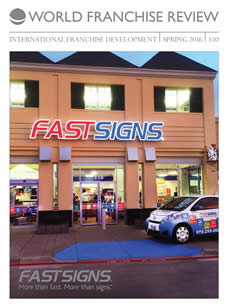 World Franchise Review Autumn 2017 - FASTSIGNS