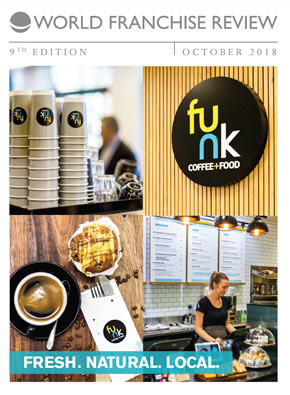 World Franchise Review Autumn 2018 - funk coffee + food
