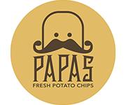 PAPAS Fresh Potato Chips